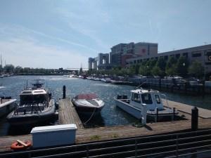 Waterfront Erie - Sheraton hotel: cigarette boat covention