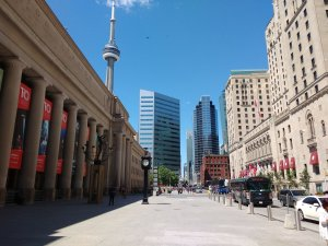 Arriving in Toronto - Union Station