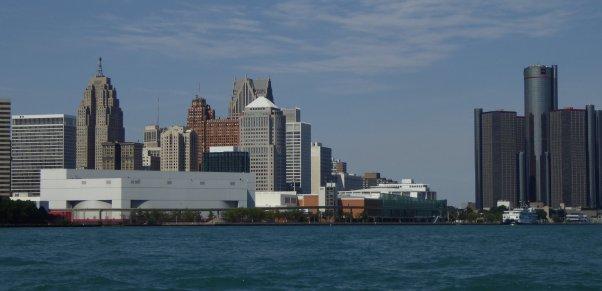 ...but grander downtown Detroit