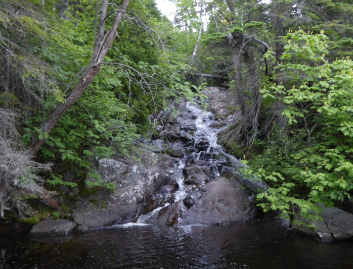 Waterfall in outer cove