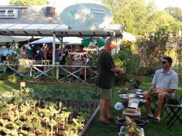 Island life - free kale Tuesdays!