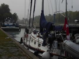 Next morning - pleasure boat dock Port Weller