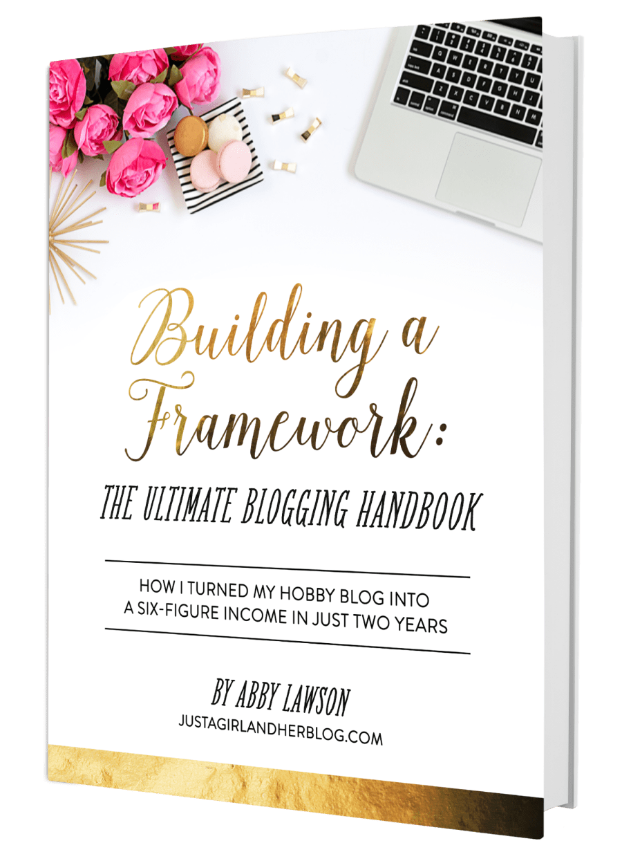 Building a Framework | A New Blogger Must Have