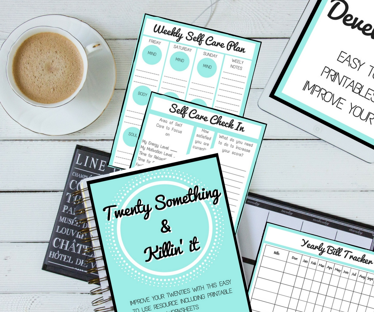 Twenty Something & Killin' It Workbook