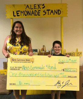 Eli At Alex' Lemonade Stand