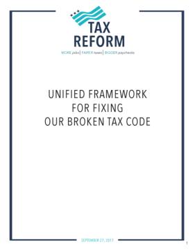 GOP Tax Plan