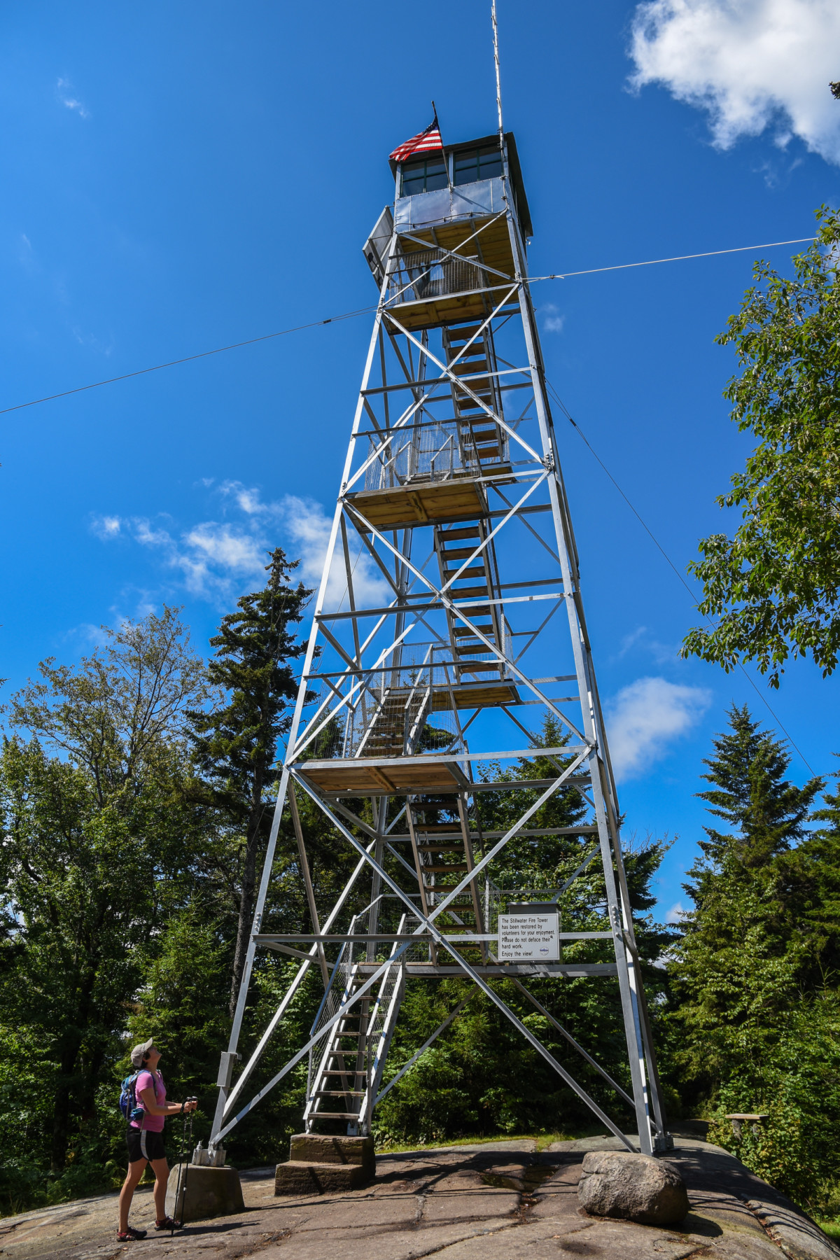 Stillwater A Quot New Quot Old Fire Tower Mountain Adirondack