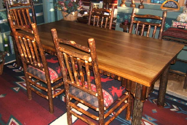 adirondack style dining chairs extra heavy duty portable chair rustic tables from designs
