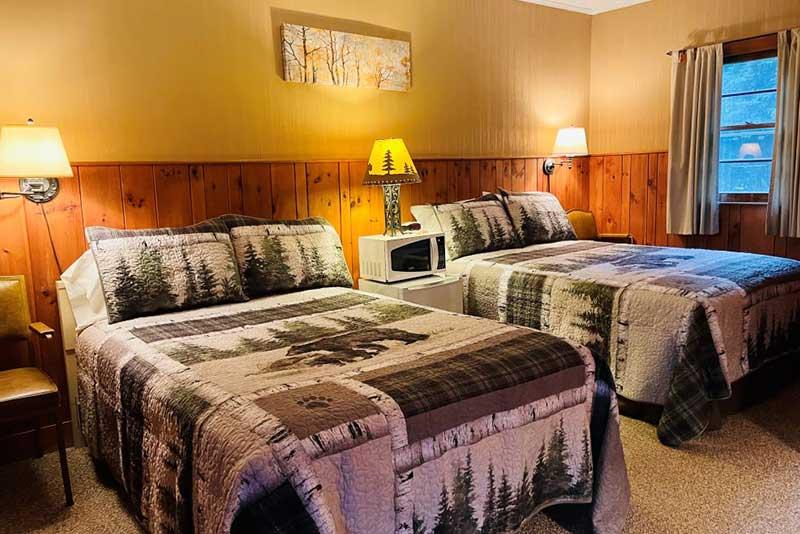 Birch Bark Room