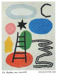 Iconografie van de Ladder van Lansink in de beeldtaal van Harrie Gerritz