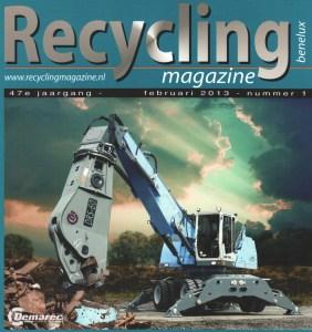 Recycling Magazine Benelux 2013.1