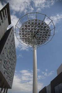 Innovatie? Ja zeker - de Zonneboom van Andreas Hetfeld in Nijmegen (Foto: Ger Loeffen)