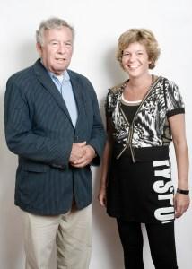 Ad Lansink en Hannet de Vries - in 't Veld Foto: Fred van 't Slot