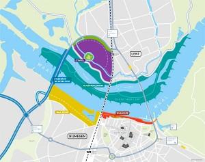 Nijmegen omarmt de Waal Groen : Veur Lent