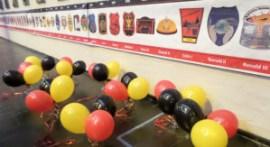 Ballonnen en onderscheidingen van het Prinsenconvent, nog even bij elkaar