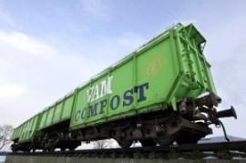 VAM Compost : karakteristieke blikvanger van Attero in Wijster (Bron: www.afvalonline.nl)