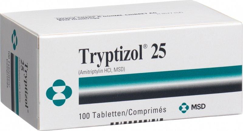 Tryptizol Tabletten 25mg 100 Stück in der Adler Apotheke