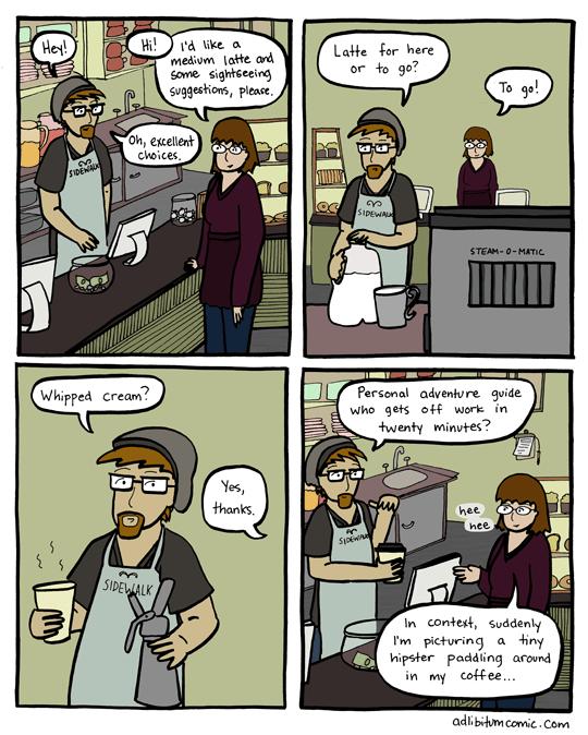 Latte to Go