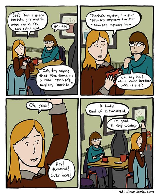 Mystery Barista