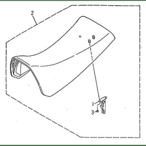 Seat (LRX/SMC Blast ATV 170)