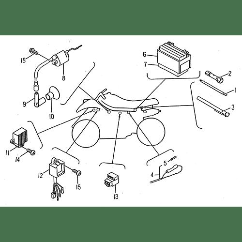 Wire Harness (LRX/SMC ATV 50 mini)