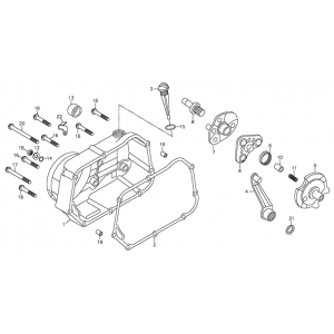 Right Crankcase Cover (Adly ATV 90Z2 4T (Gear Drive))