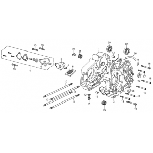 Oil Pump (Adly ATV 90Z2 4T (Gear Drive))
