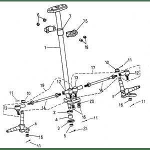 Steering (Adly ATV 90Z2 4T (Gear Drive))