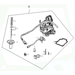 Carburetor (Adly ATV 150S II CrossXRoad)