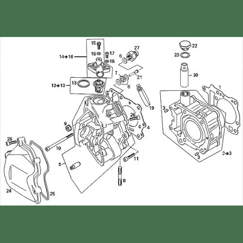 Cylinder (Adly ATV 220S)