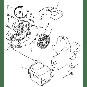 Fan, Air Shroud (Adly ATV 90cc 2T)