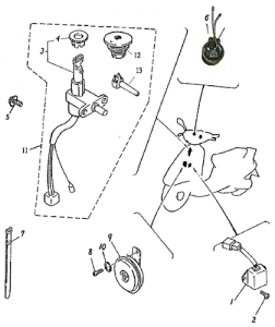 Electrical Equipment (Adly BullsEye 50)