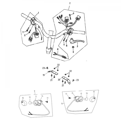 modified transmission valve body showing electronic lockup wiring