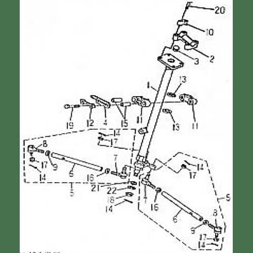 Steering (Barossa ATV 170)