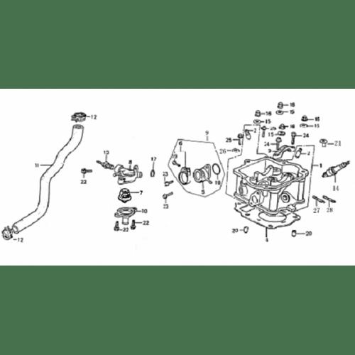 Cylinder Head (Dazon Buggy 175)