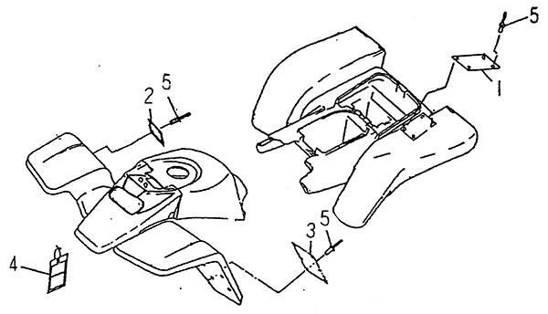 Labels & Tags (LRX/SMC Blast ATV 170)