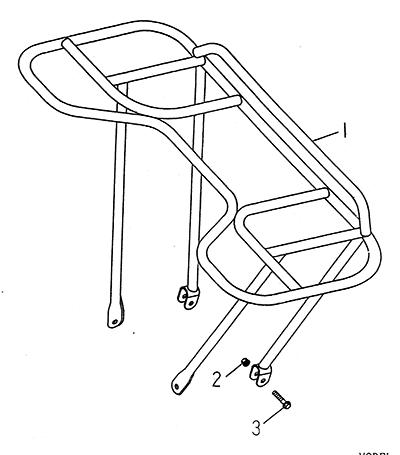 Front Carrier (LRX/SMC Blast ATV 170)