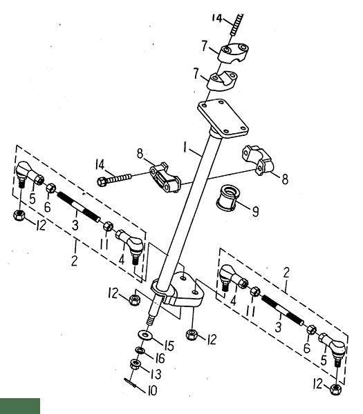 Steering (LRX/SMC ATV 50 mini)