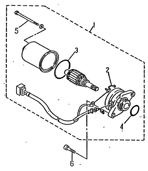 Starting Motor (LRX/SMC Blast ATV 90/100)