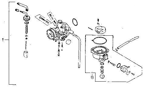 Carburetor (Adly ATV 90II 4T (CVT))