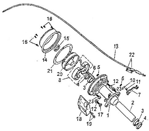 Rear Brake (Adly ATV 90Z2 4T (Gear Drive))