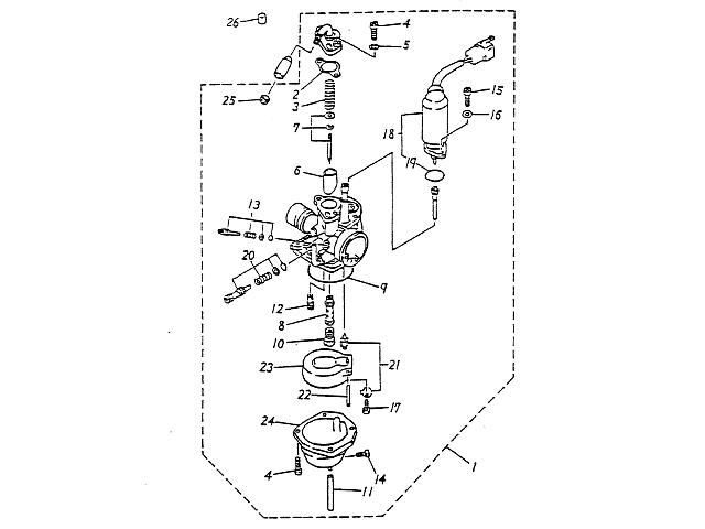 Carburetor (Blazer 90cc ATV)