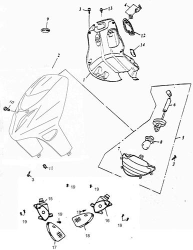 gio 50cc atv wiring diagram