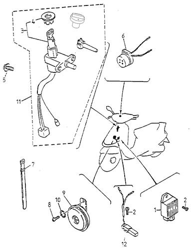 Electrical Equipment (Thunder Bike 150)