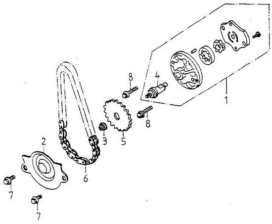 Oil Pump (Adly ATV 150S Interceptor)