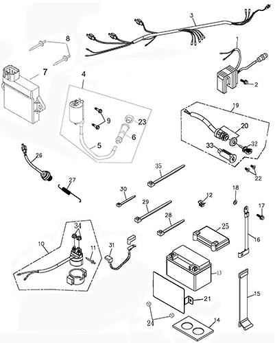Adly Atv Wiring Diagram Honda GX120 Parts Diagram Wiring