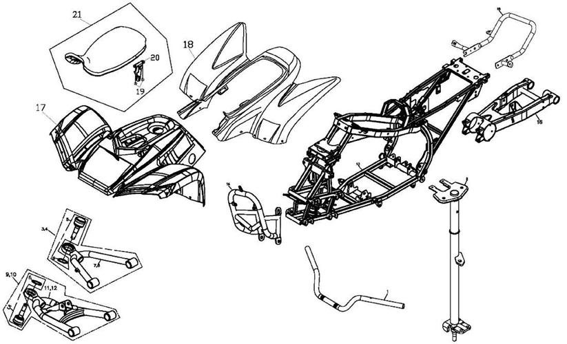 Accessory (Adly ATV 220S)