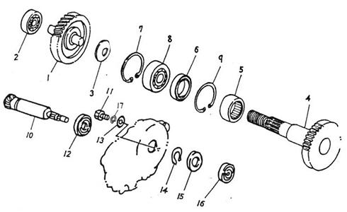 Transmission (Thunder Bike 50)