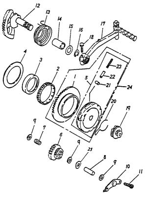 Starter (Adly ATV 90cc 2T)