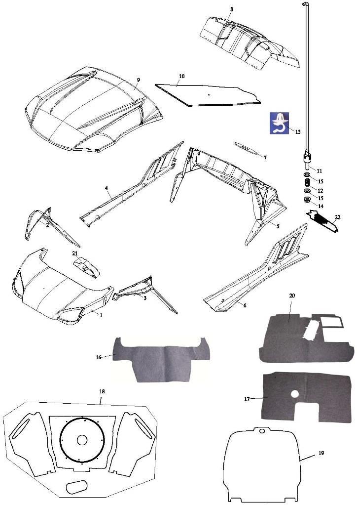 Accessories (Adly Mini Car 320)